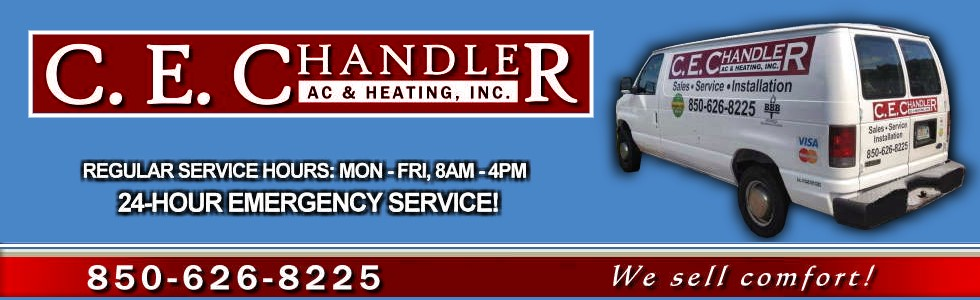 "CE Chandler AC & Heating Sales & Repiar, Service or Repair & Installation ""We Sell Comfort""."
